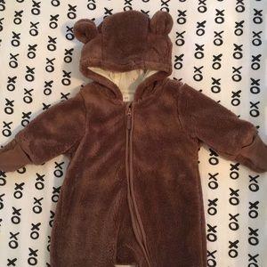 H&M Bear Fleece Suit
